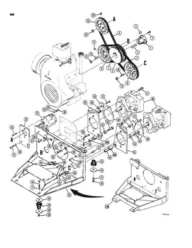 CASE IH D60083 Replacement Belt