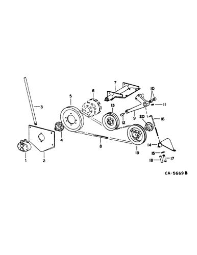 Case//IH 1440 Combine Parts Catalog