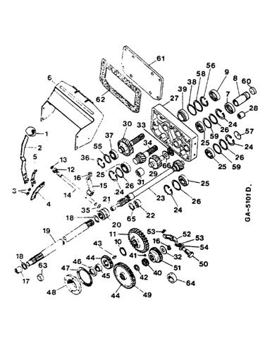 844 Abstreifer mecánicos freno /_ case ih/_ihc/_554 644,743,744,745 844s /_/_/_/_/_/_/_/_