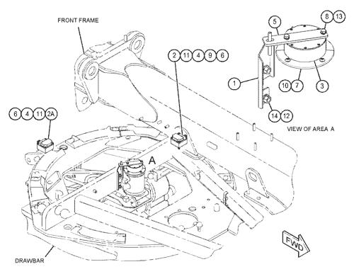 363 4325 Wiring Gp Sensor S N M9c1 Up Part Of 462 6389 Grade Control Ar Type 2 120m 2 Motor Grader Avspare Com