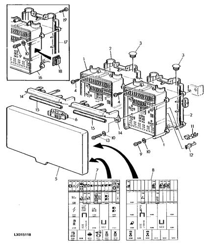 6300 - tractor fuse box / symbols (4-post rops) epc john deere l102203 ag  online :: avs.parts  avs.parts