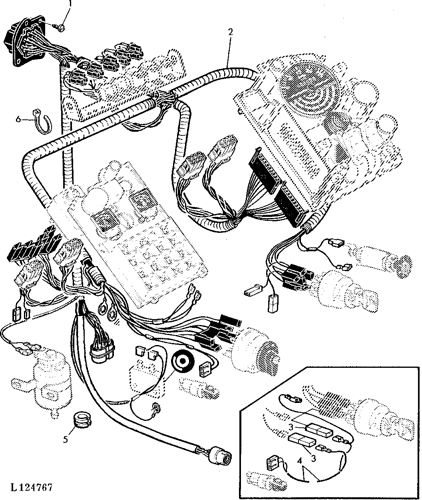 [DIAGRAM_38IS]  2955 - TRACTOR Wiring Harness-Dash (SGB and Four-Post Roll-Gard™) EPC John  Deere online | John Deere Tractor Wiring Harness |  | AVSpare.com