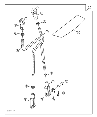 410g Backhoe Loader Sae Backhoe Control Linkage Pattern Kit Epc John Deere Online