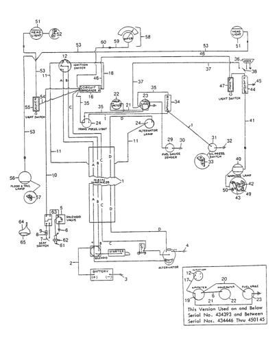 [DIAGRAM_1JK]  L425) - SKID STEER LOADER (7/76-7/82) (024) - ELECTRICAL SCHEMATICS New  Holland Agriculture | New Holland Schematics |  | AVSpare.com