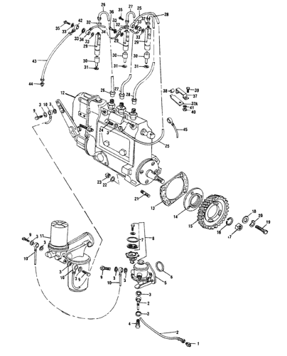 [SCHEMATICS_48DE]  F3L912) - DEUTZ 3 CYL DIESEL ENGINE (1/10-12/13) (012) - FUEL SYSTEM New  Holland Agriculture   Deutz Engine Diagram      AVSpare.com
