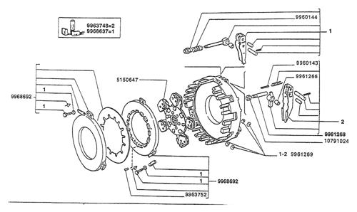 Kugelgelenk für Spurstange für Fiat//New Holland 55-46 bis 800 L F M L=80mm
