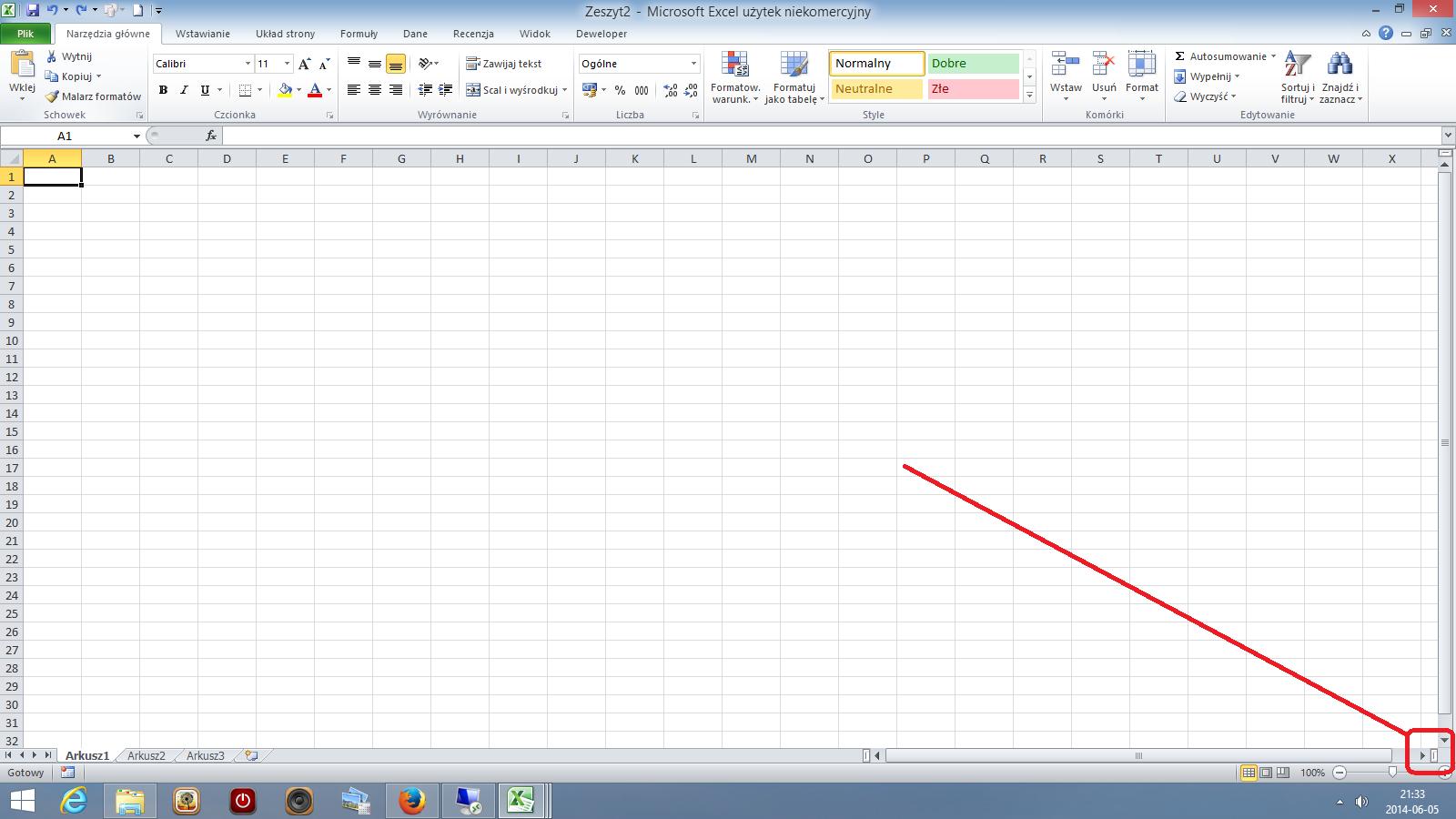 Ms Excel Jak Zablokować Pierwsze Kolumny W Arkuszu Quorum