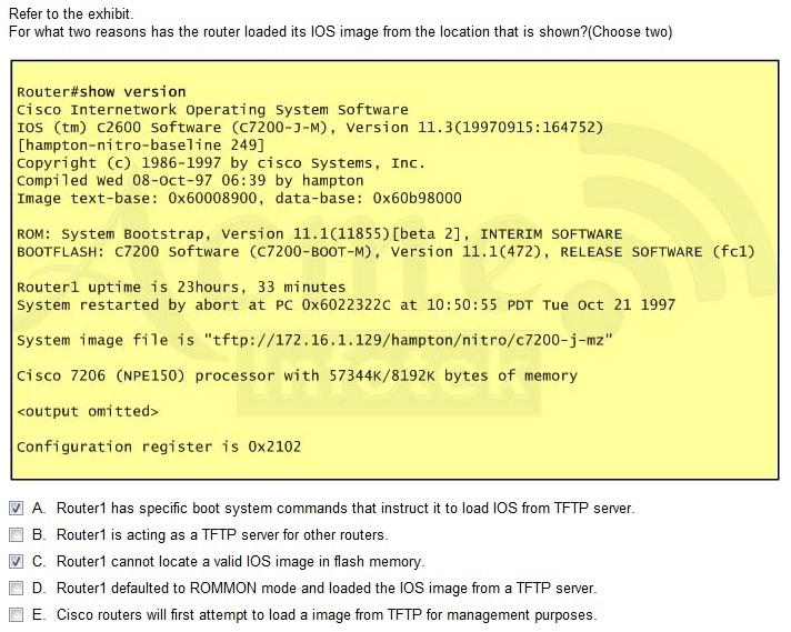 CISCO] ładowanie IOS-a z TFTP - Quorum
