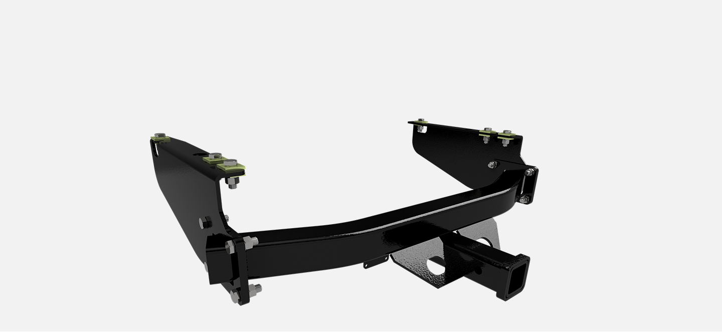 B&W Towing HDRH24400 Rcvr Hitch-2, 12,000# Boxed