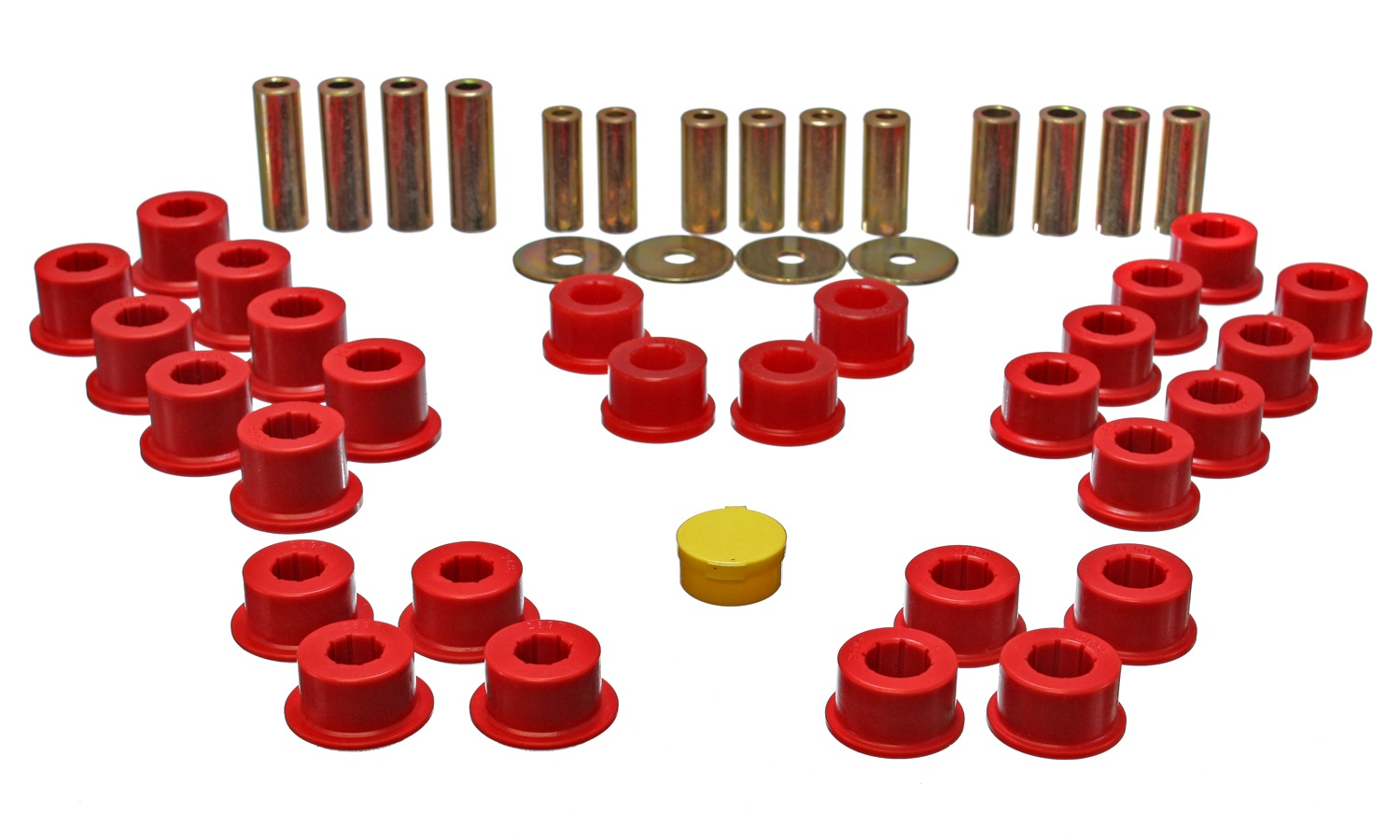 Energy Suspension 11.3106R Rear Control Arm Bushing Set