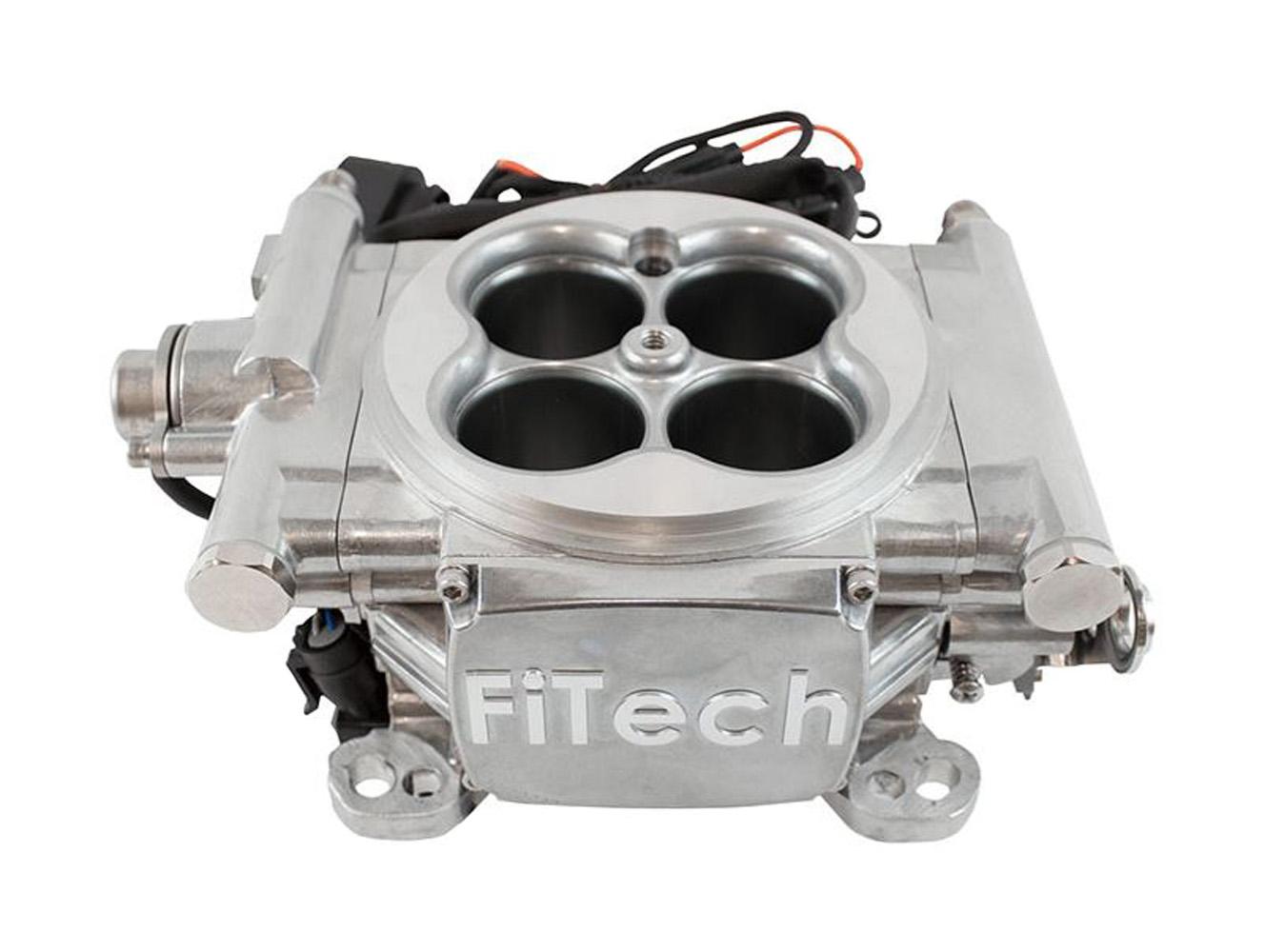 FiTech 30001 Go EFI 4 Series Self-Tuning Throttle-Body EFI System Kit (Aluminum, 600 HP)