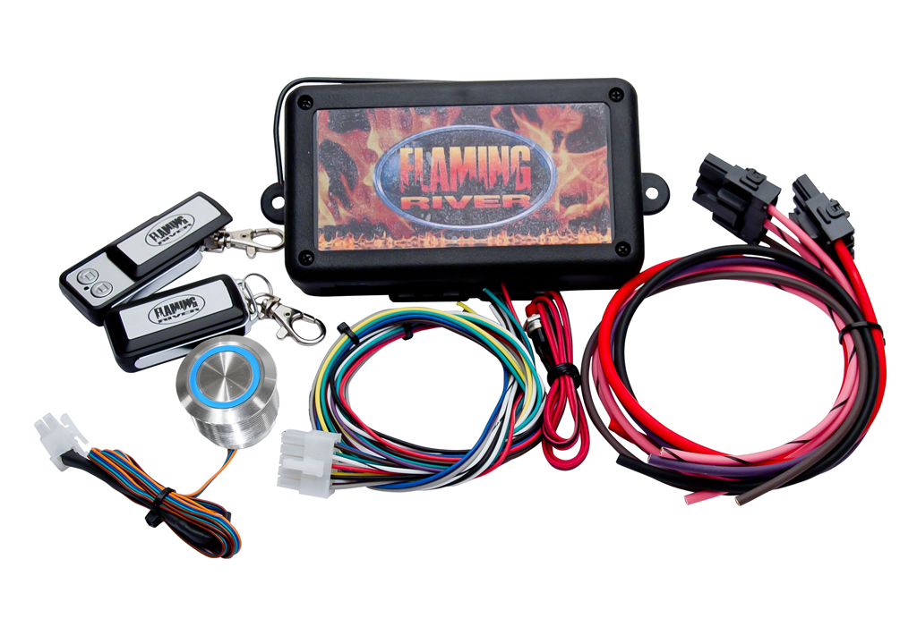 Flaming River FR60004 Programmable Keyless Ignition - Dash Mount