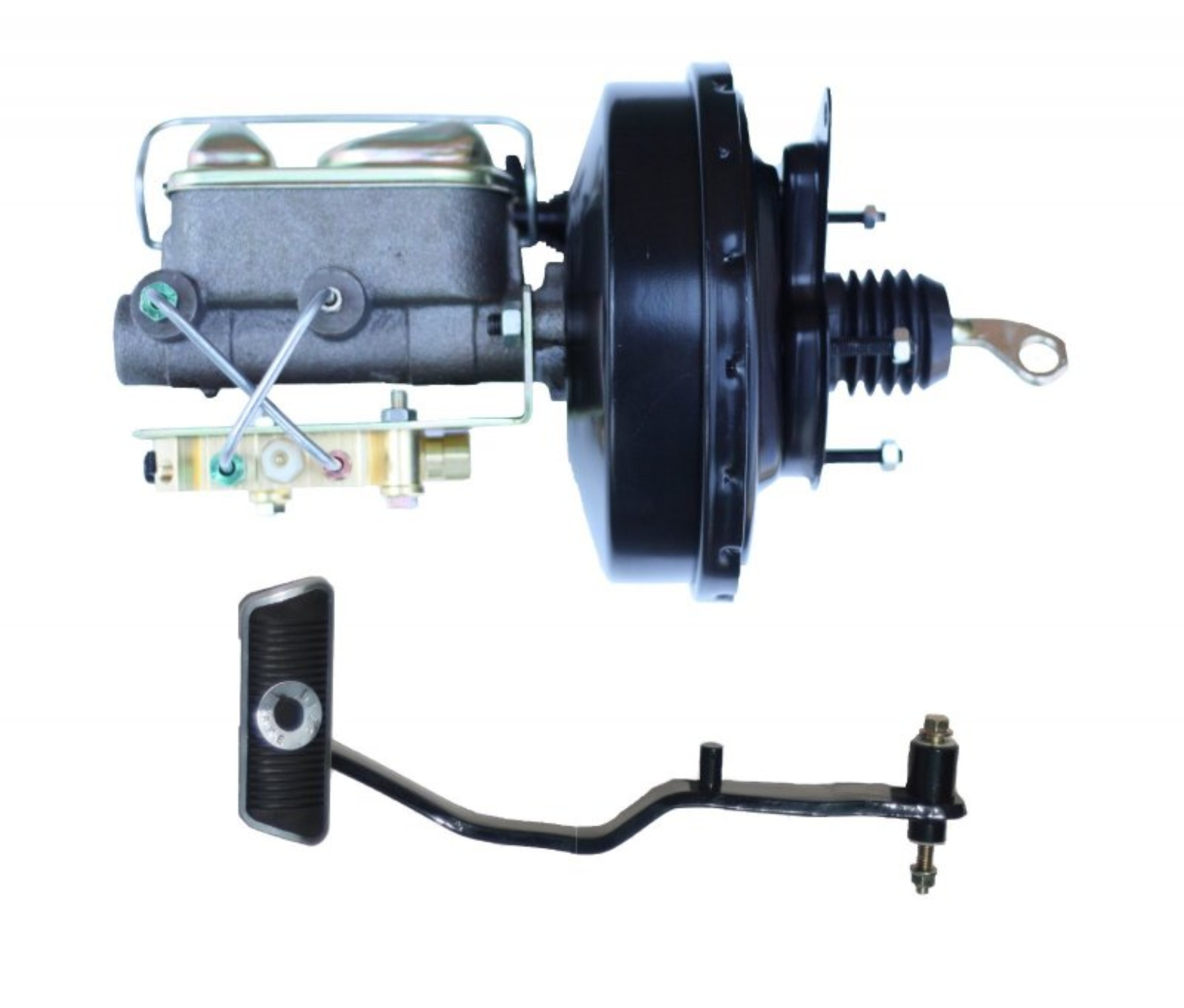 LEED Brakes 03473PA 9 in Power Brake Booster 1 in bore Master Cylinder disc/disc Auto