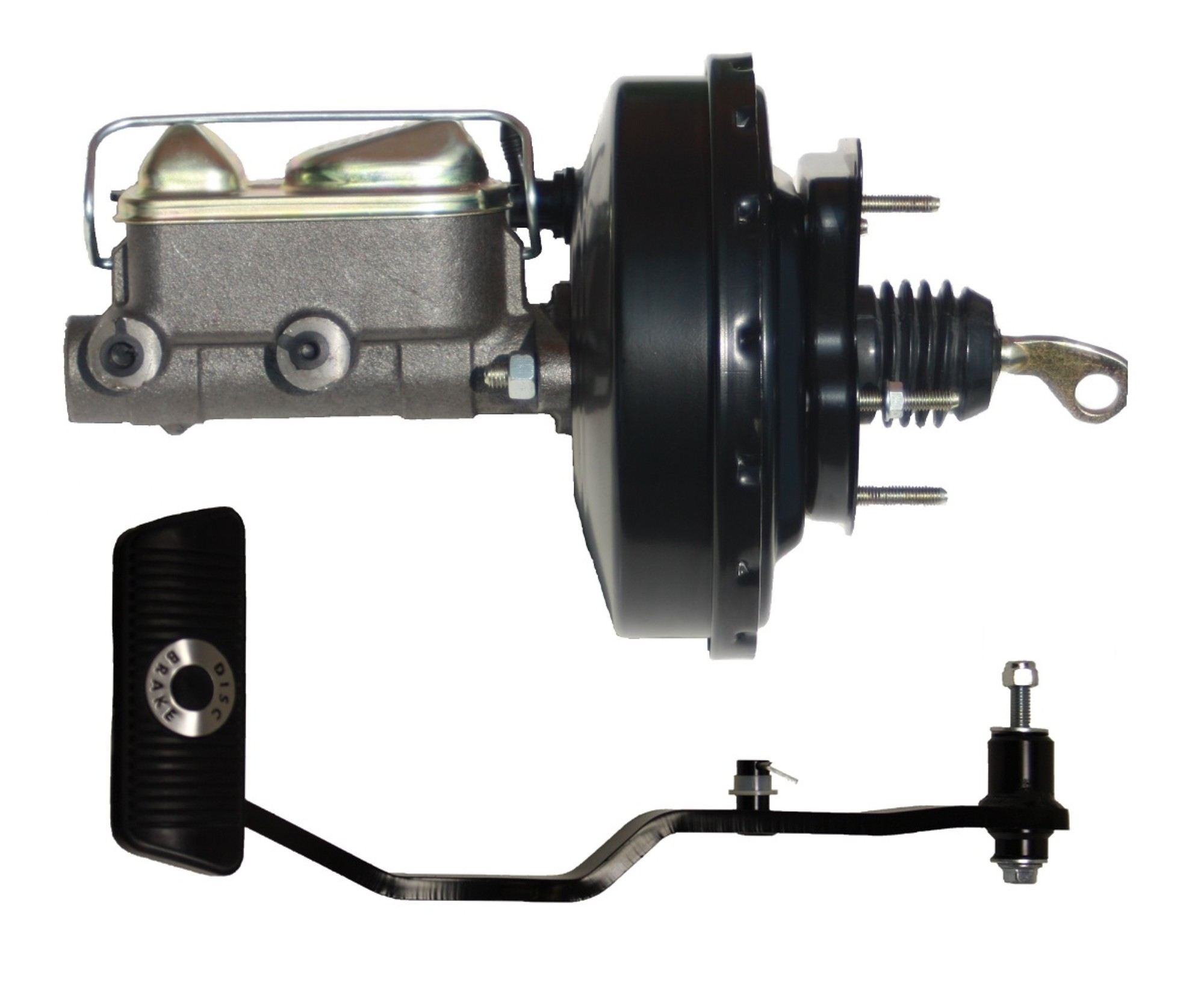 LEED Brakes 034PA 9 in Power Brake Booster 1 in bore Master Cylinder  Auto
