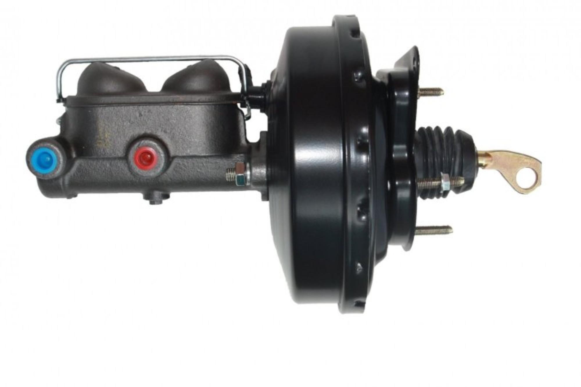 LEED Brakes 3800 9 in Power Brake Booster ,1 in bore Master drum/drum (Black)
