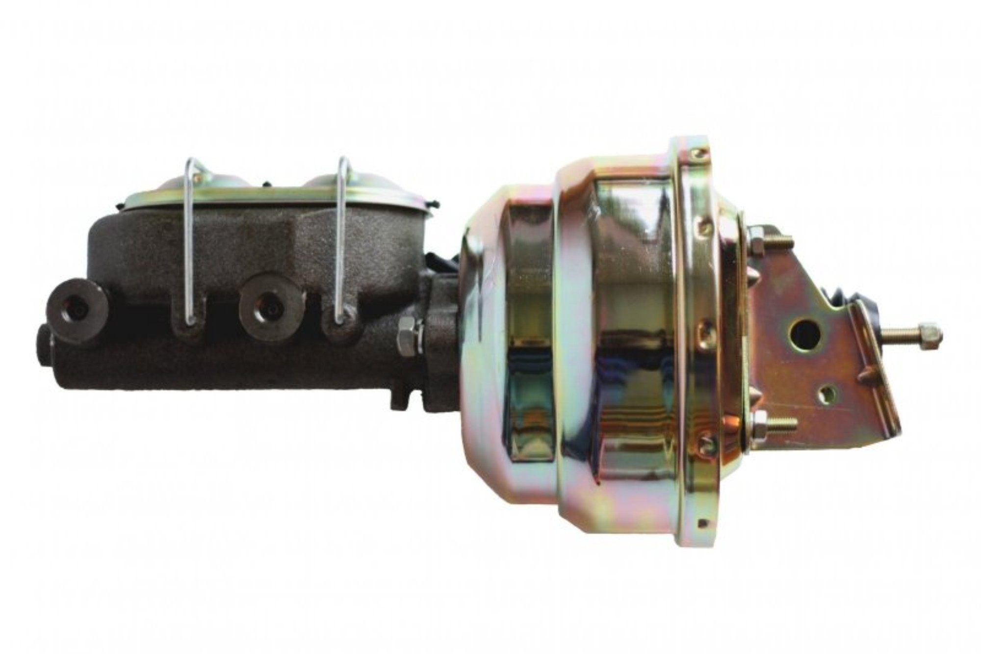 LEED Brakes 1M1 8 in Dual Power Booster ,1-1/8in Bore, (Zinc)