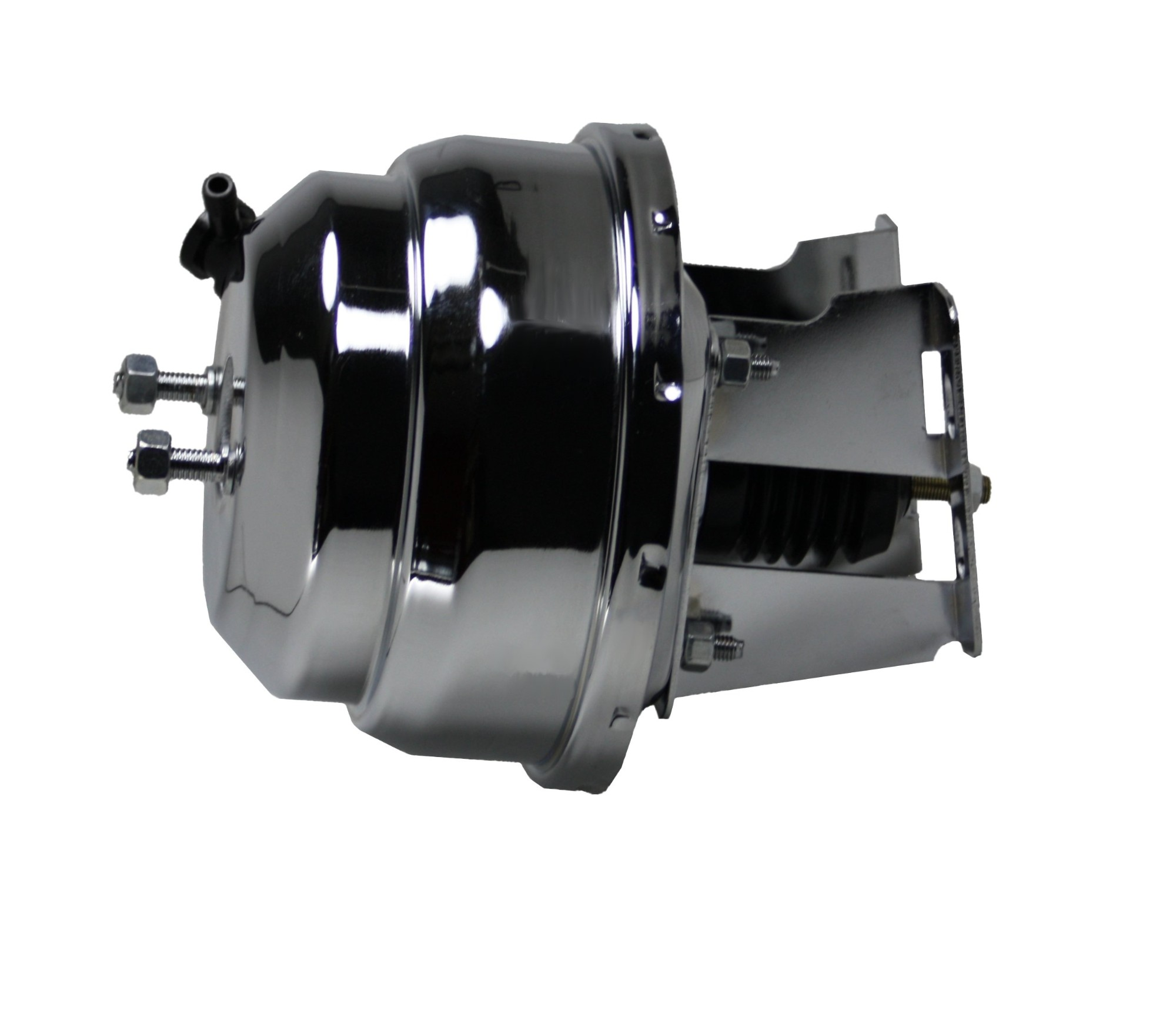 LEED Brakes 4V 8 in Dual Power Booster (Chrome)