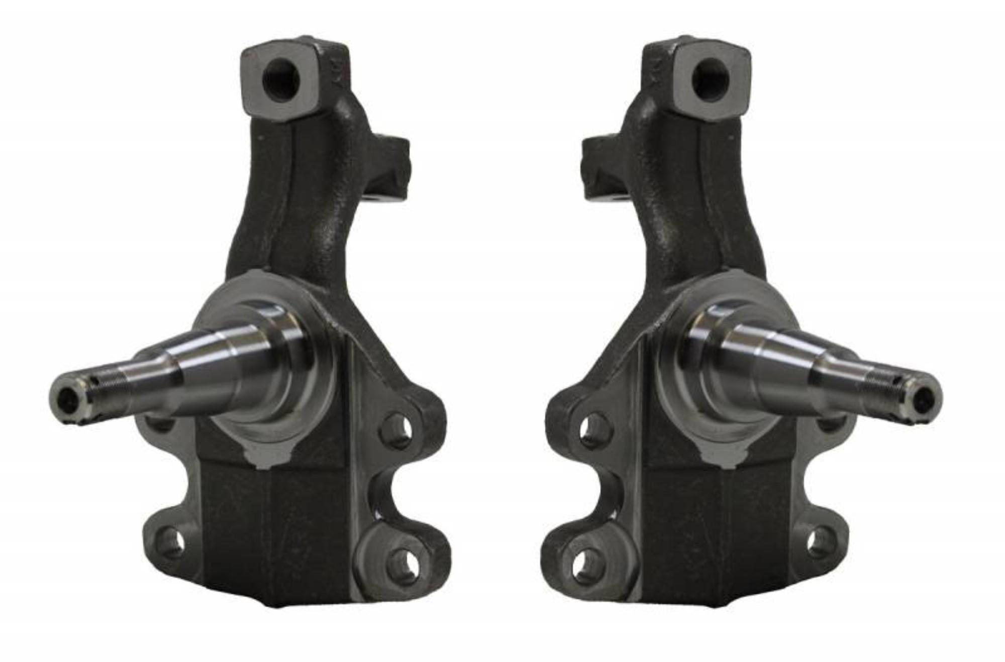 """LEED Brakes SP5002P Disc Brake Spindle Set -  2"""" Drop Spindle"""