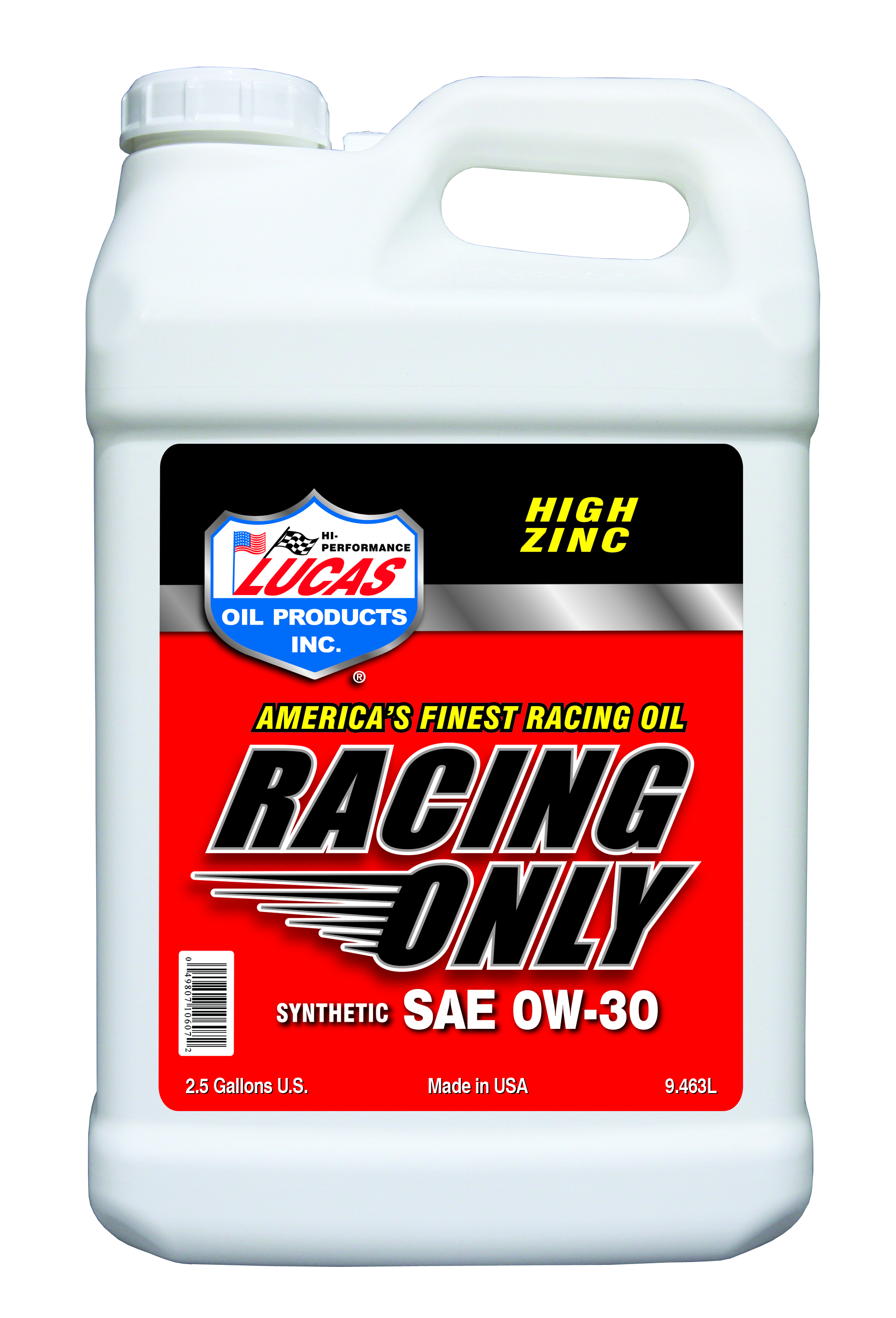 Lucas Oil 10607 Synthetic SAE 0W-30 Racing Only