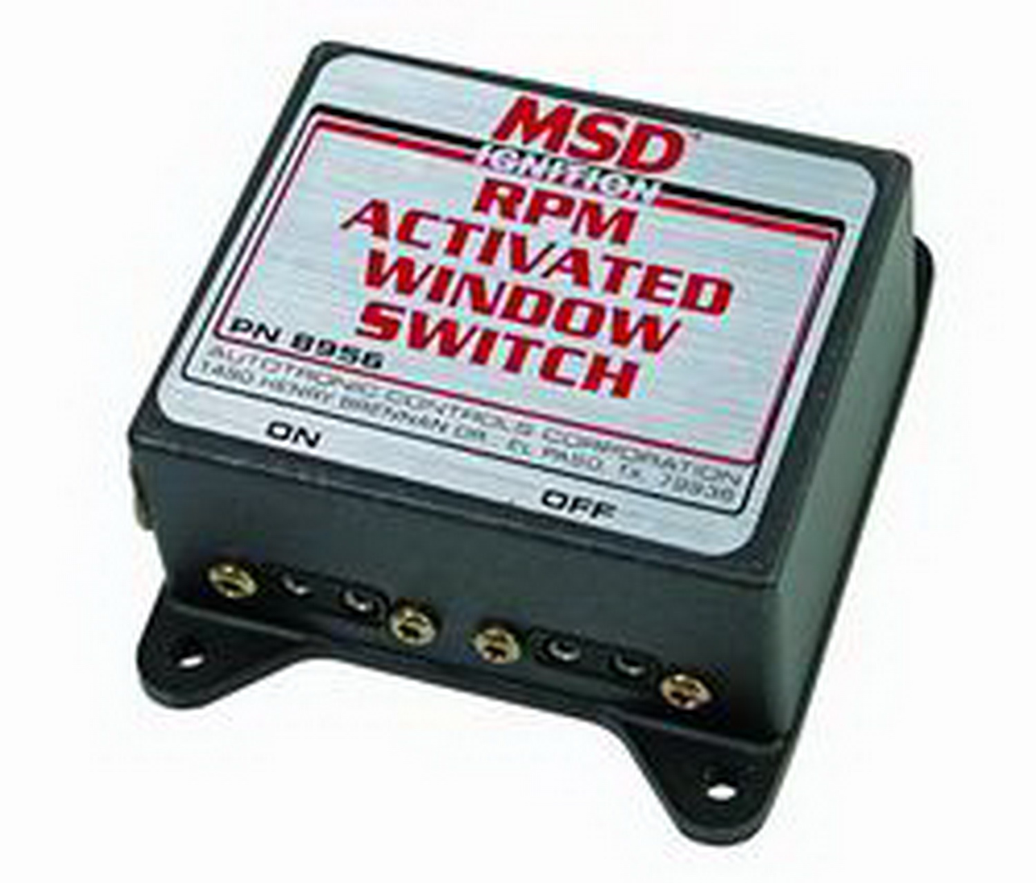 MSD Performance 8956 Window, RPM Activated Switch, MSD