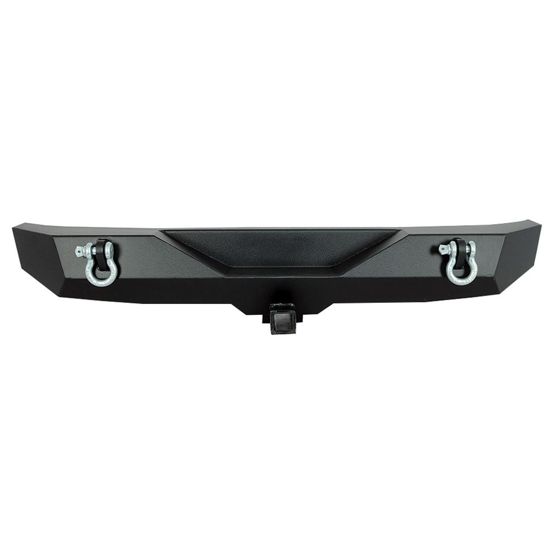Paramount Automotive 51-0310 Heavy Duty Rock Crawler Rear Bumper Black
