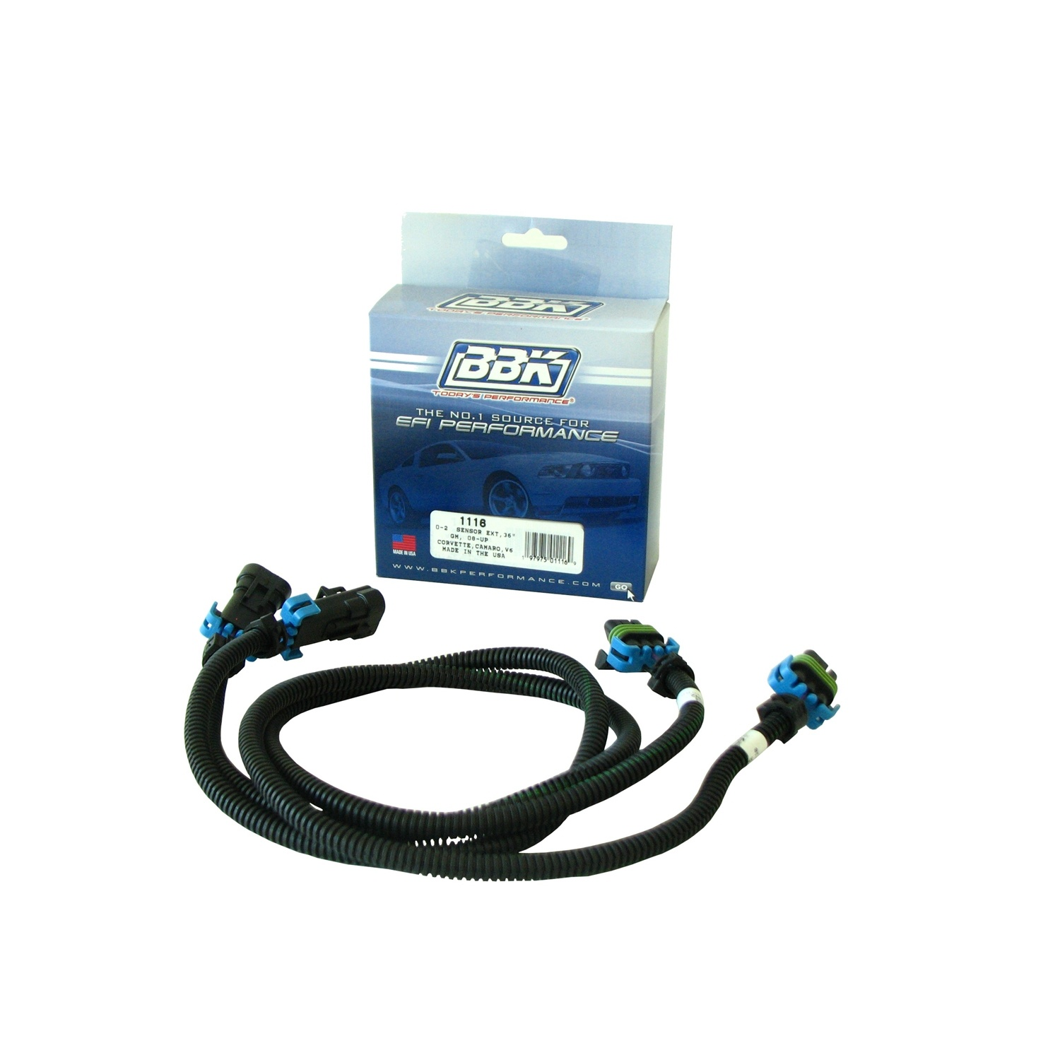 BBK Performance Parts 1116 O2 Sensor Wire Extension Harness