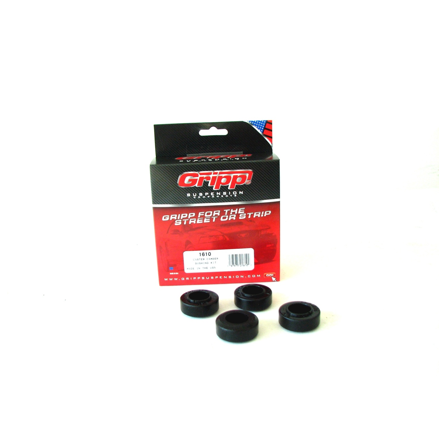 BBK Performance Parts 1610 Caster/Camber Plate Replacement Bushings