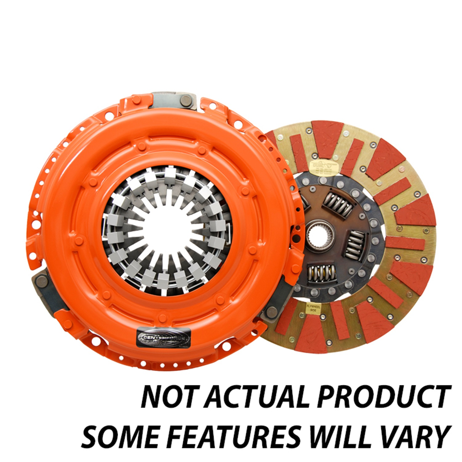 Centerforce DF148075 Dual Friction(R), Clutch Pressure Plate and Disc Set Dual Friction(R), Clutch Pressure Plate and Disc Set
