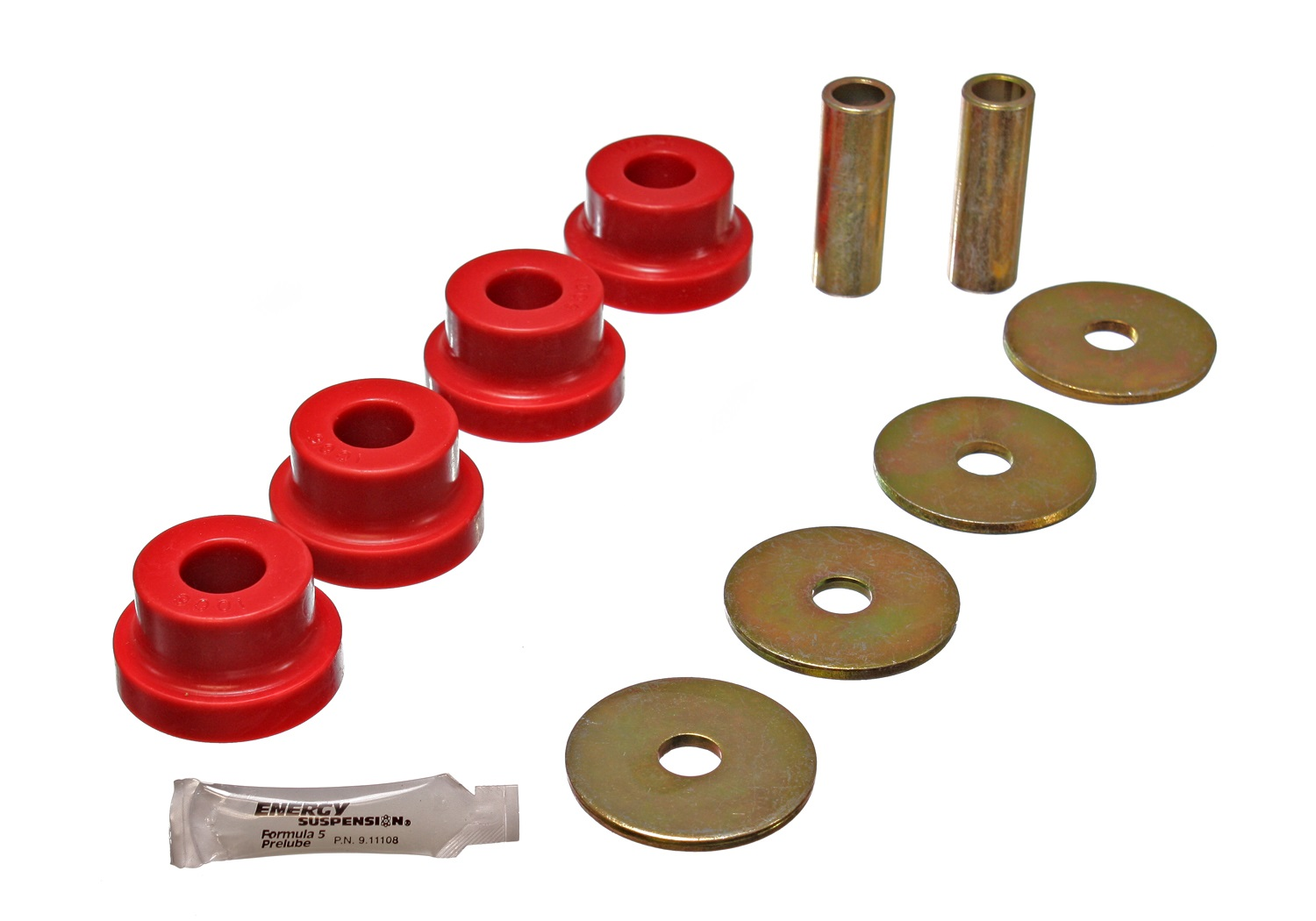 Energy Suspension 7.1102R Differential Carrier Bushing Set