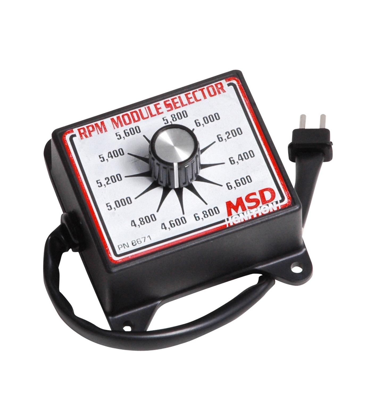 MSD Performance 8671 Selector Switch  4.6K-6.8K