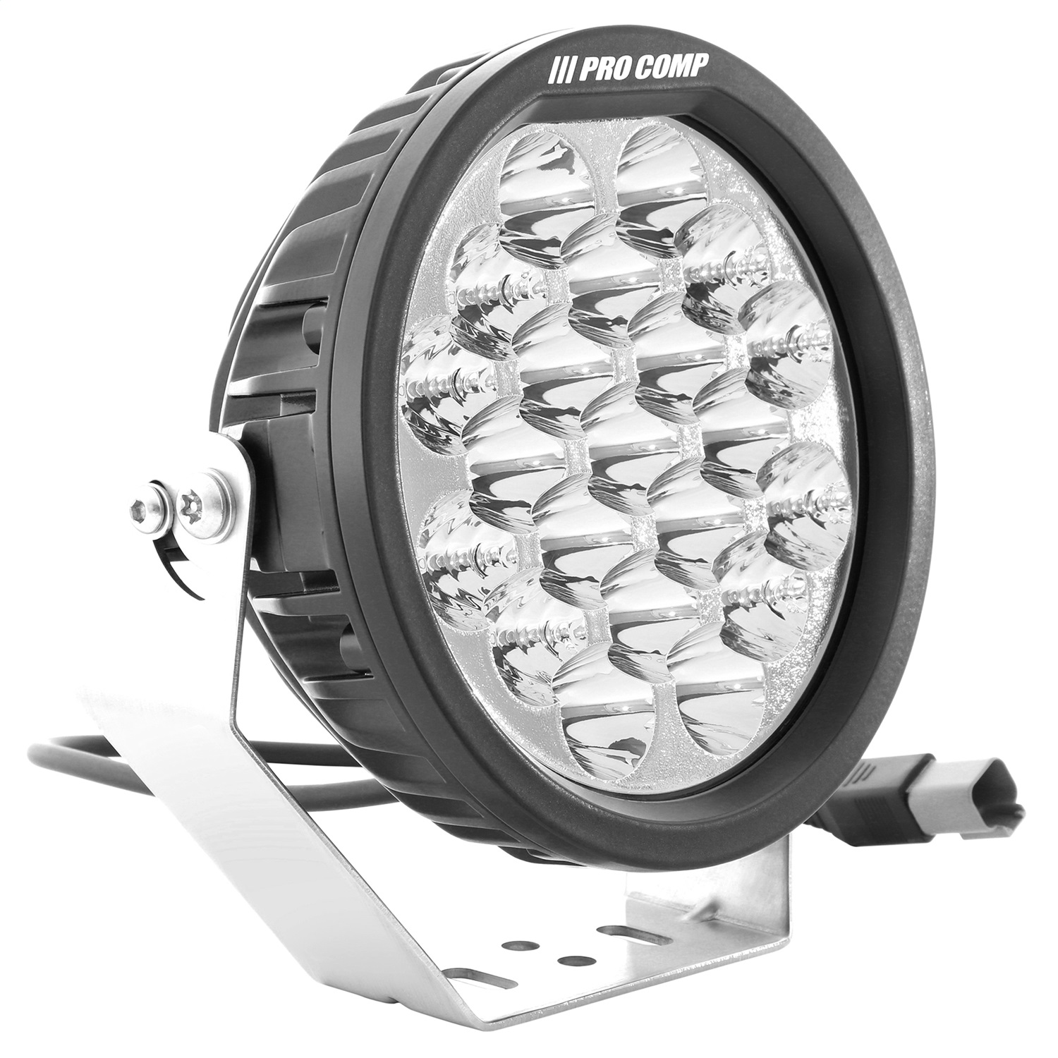 Pro Comp Suspension 76502 Round LED Motorsports Light