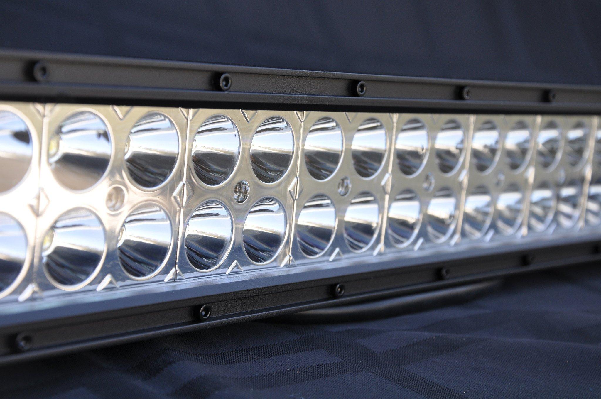 DV8 Offroad B12CE72W3W 12 Inch Light Bar 72W Flood/Spot 3W LED Chrome
