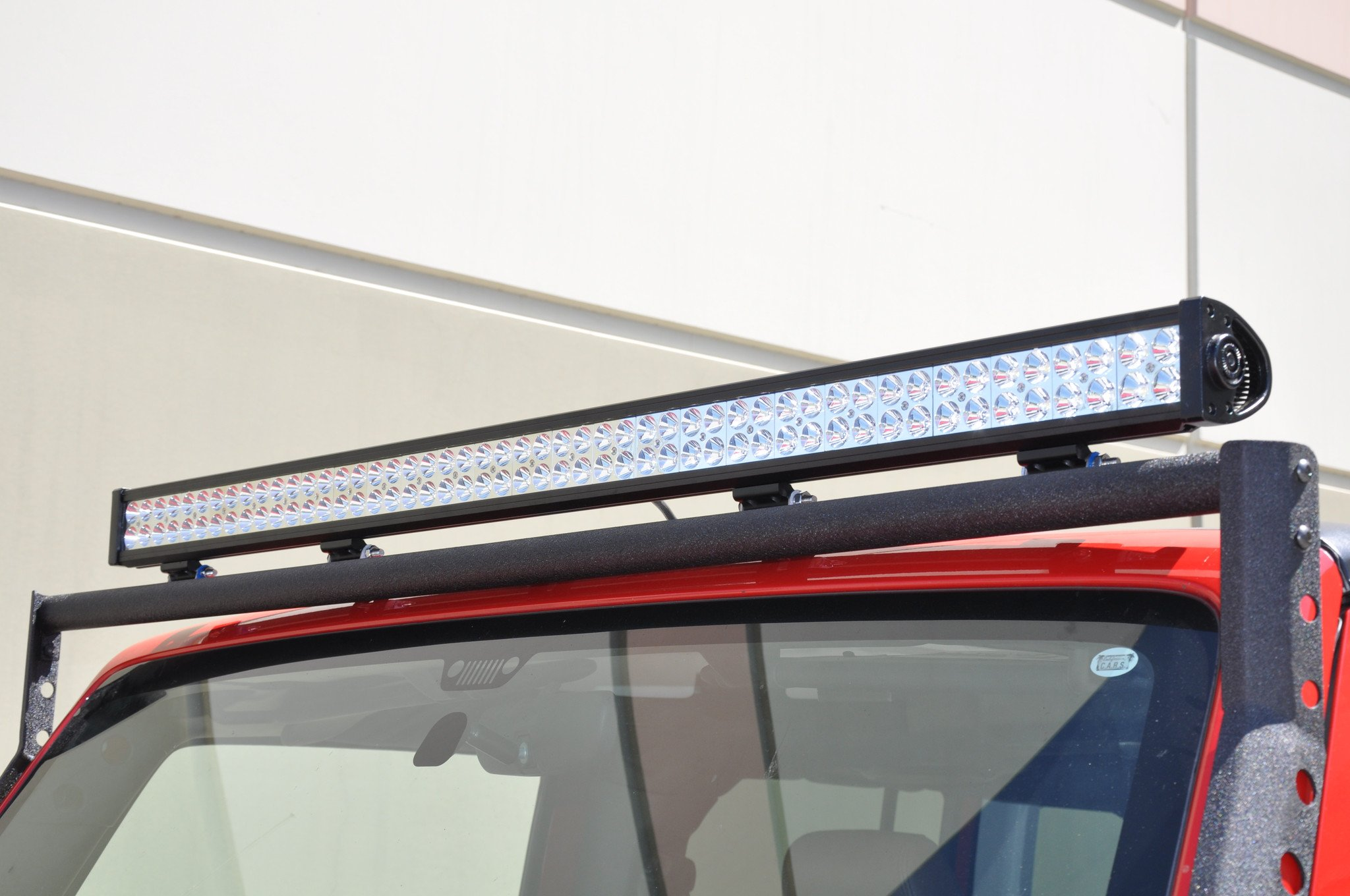 DV8 Offroad B50CE300W3W 50 Inch Light Bar 300W Flood/Spot 3W LED Chrome