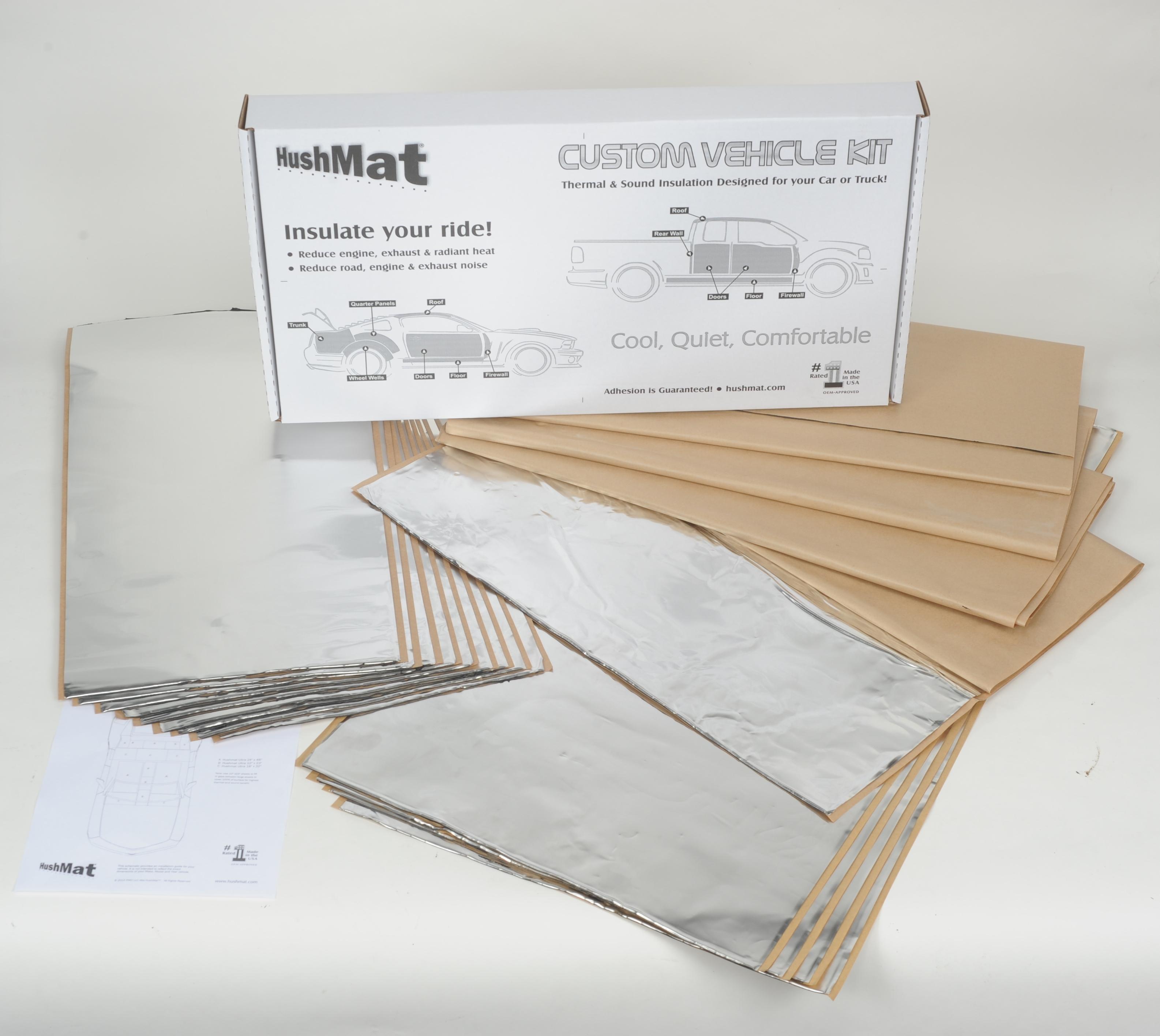 Hushmat 58015 Complete Vehicle Custom Insulation Kit