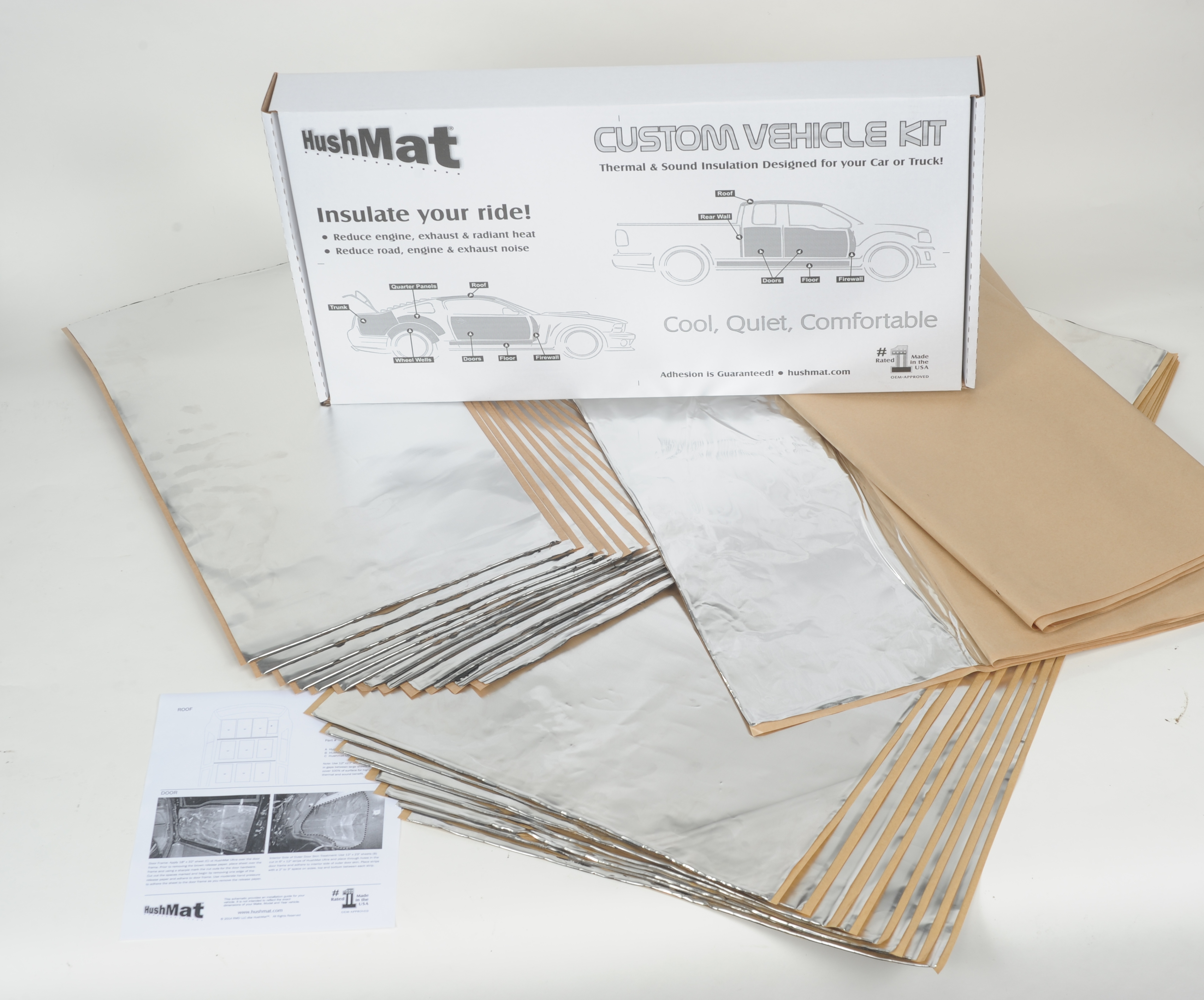 Hushmat 58020 Complete Vehicle Custom Insulation Kit
