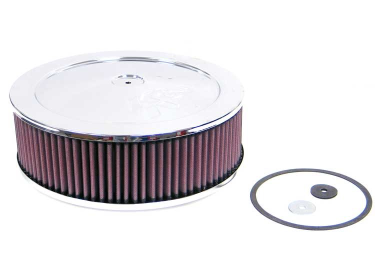 K&N 60-1140 Round Air Filter Assembly
