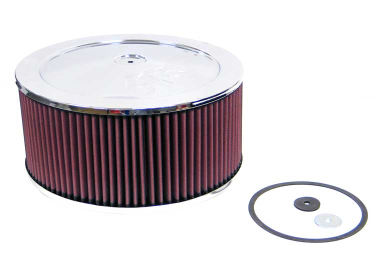 K&N 60-1200 Round Air Filter Assembly