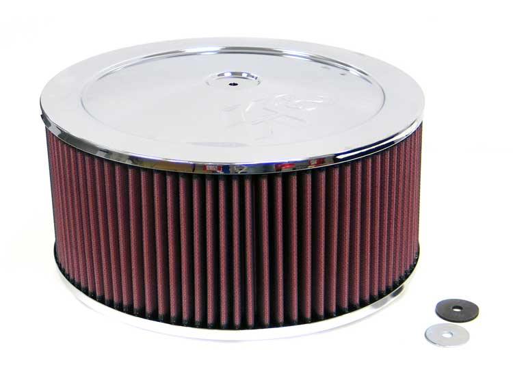 K&N 60-1210 Round Air Filter Assembly