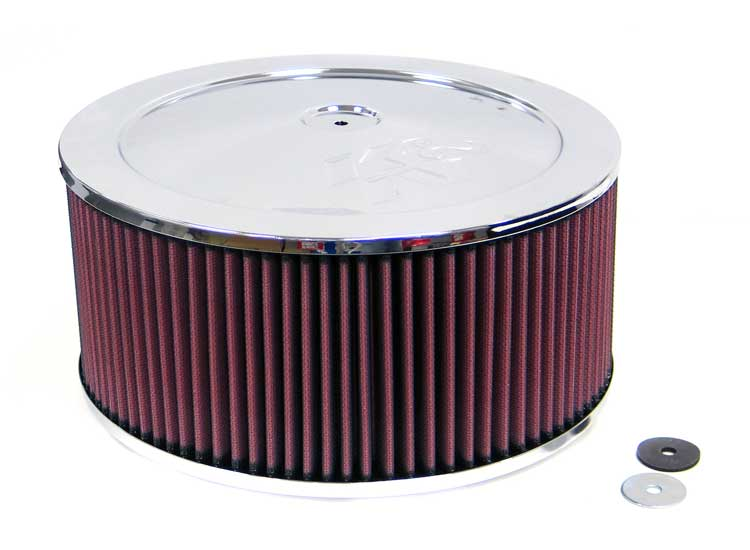 K&N 60-1240 Round Air Filter Assembly