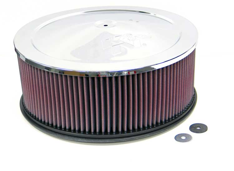 K&N 60-1245 Round Air Filter Assembly