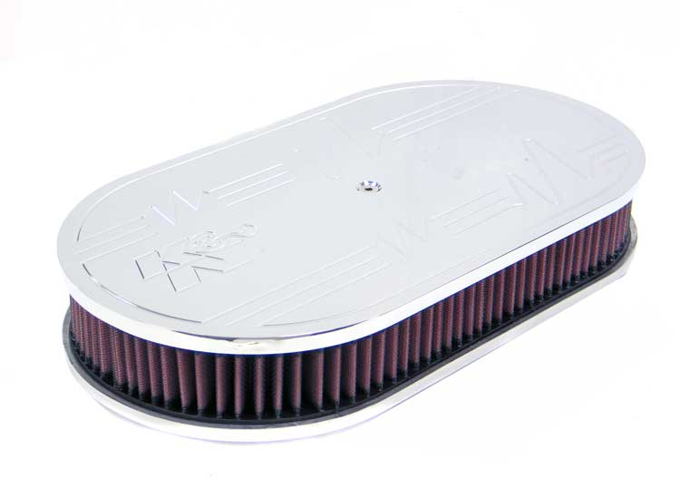 K&N 66-1510 Oval Air Filter Assembly