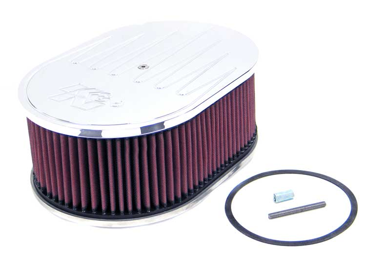 K&N 66-1540 Oval Air Filter Assembly
