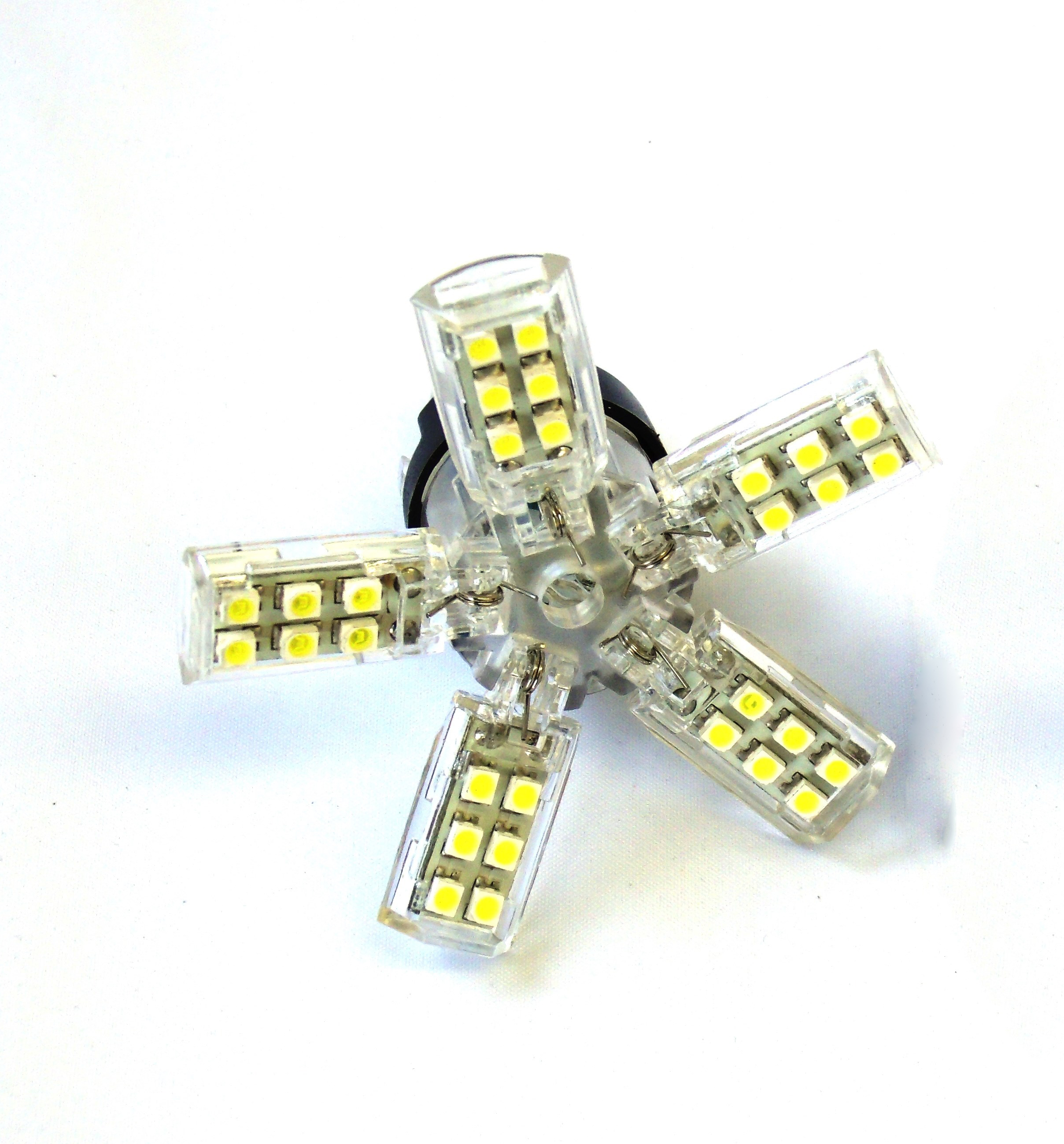 Race Sport Lighting 1157-SPY-WHITE Spyder 5050 LED Replacement Bulb - pair White