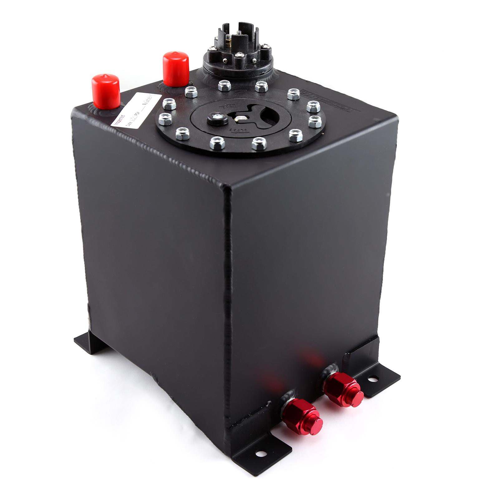 Speedmaster 1-130-002 Speedmaster 2.5 Gallon / 10 Litre Black Aluminum Fuel Cell w/Sending Unit