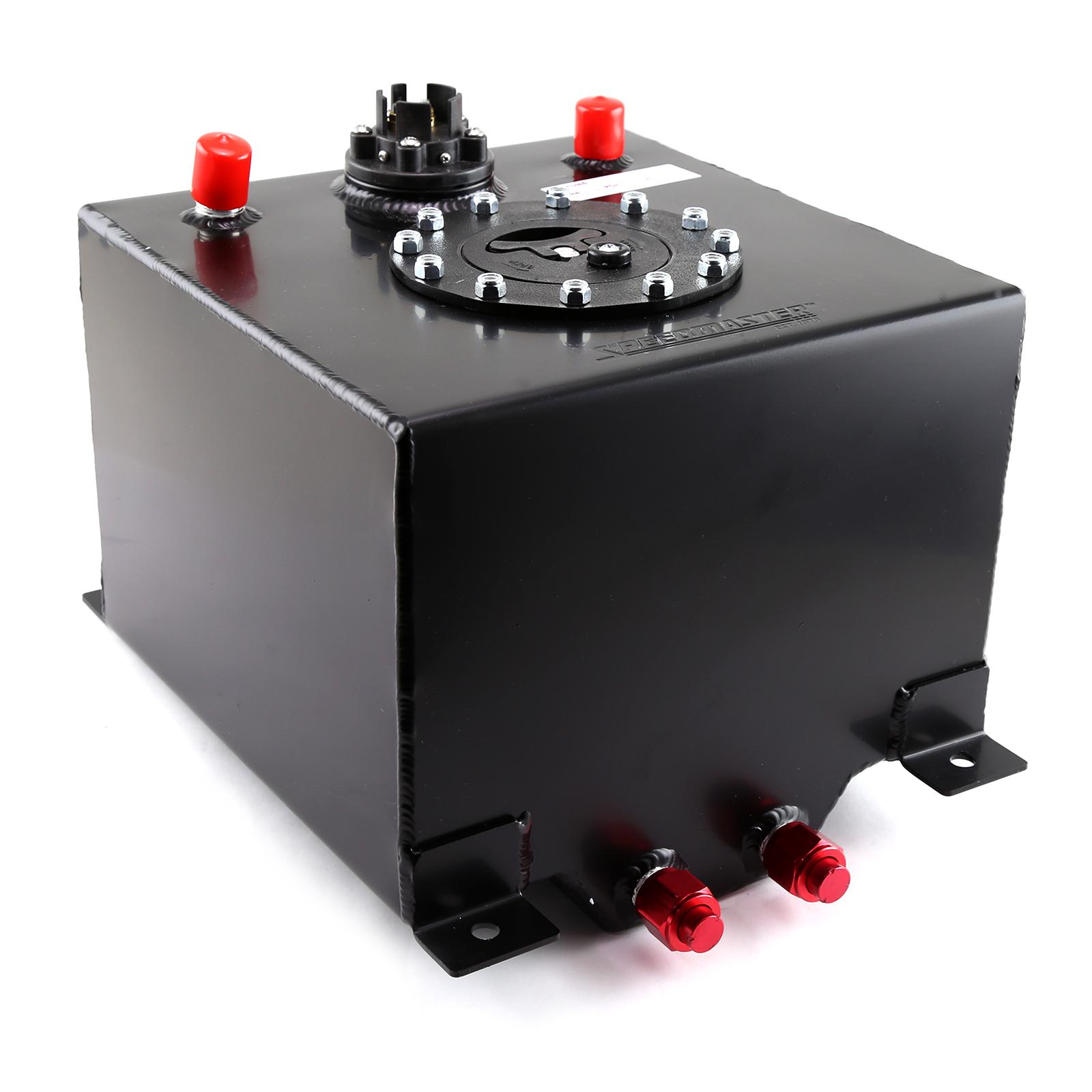 Speedmaster 1-130-004 Speedmaster 5 Gallon / 20 Litre Black Aluminum Fuel Cell w/Sending Unit