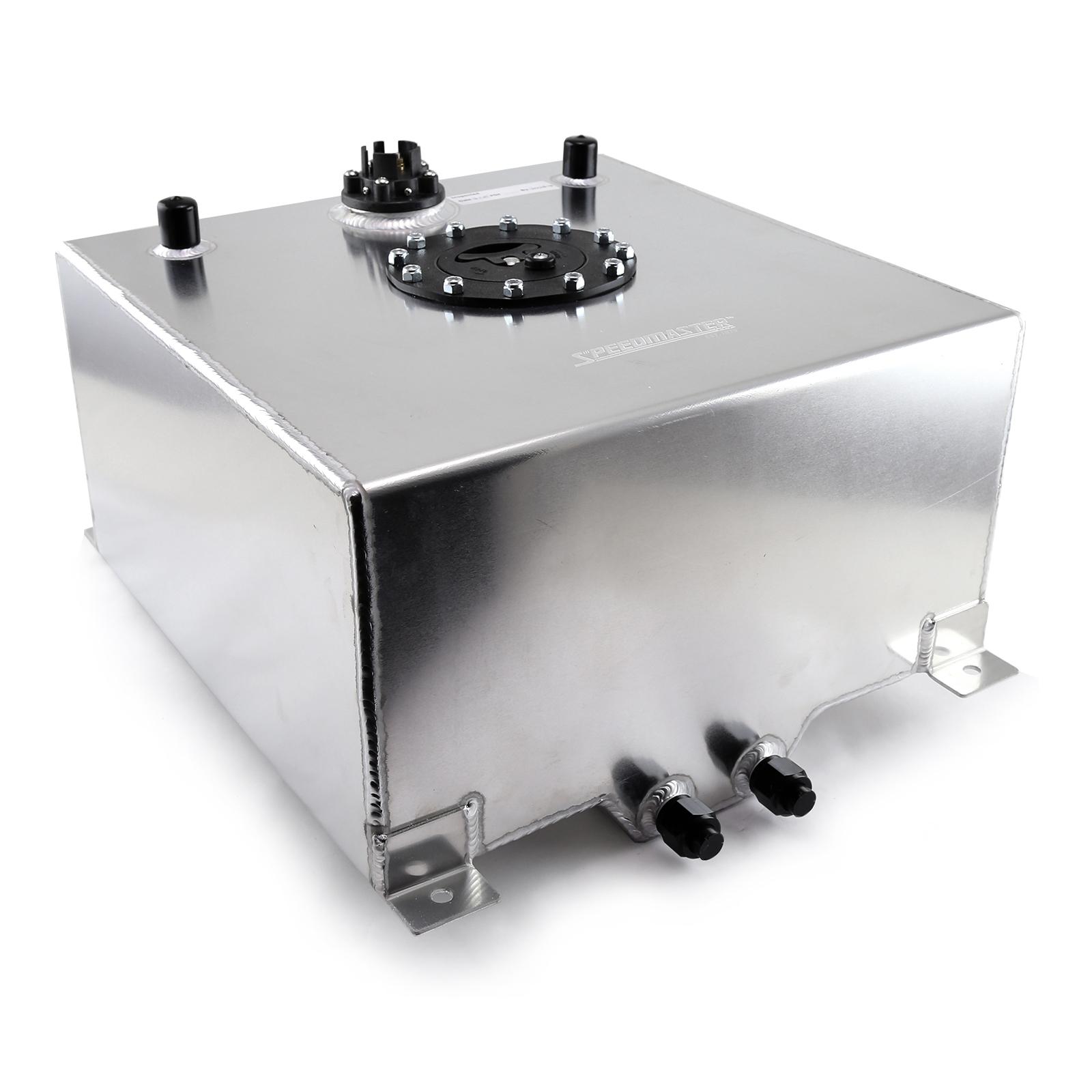 Speedmaster 1-130-007 Speedmaster 10 Gallon / 40 Litre Aluminum Fuel Cell w/Sending Unit