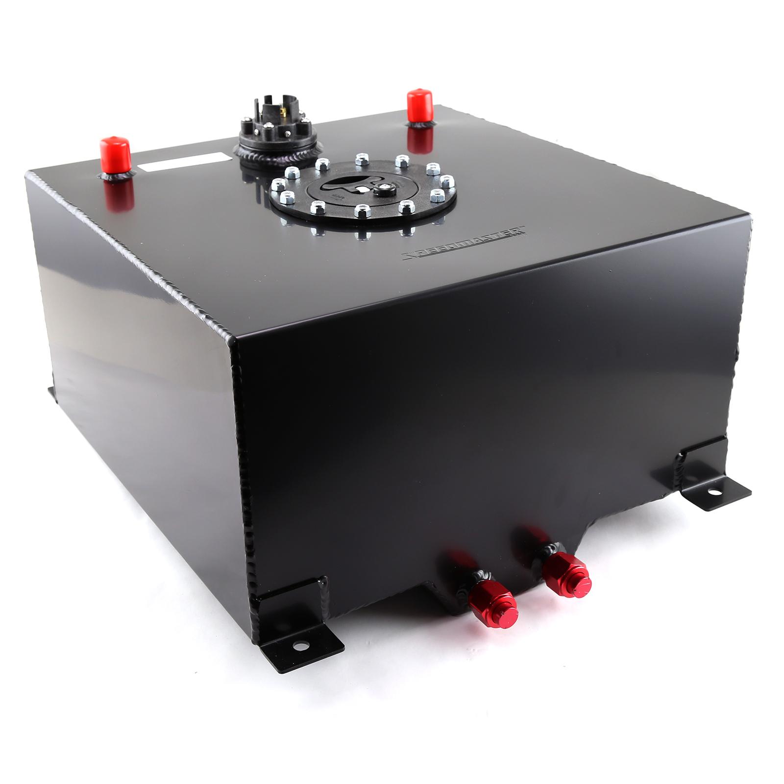 Speedmaster 1-130-008 Speedmaster 10 Gallon / 40 Litre Black Aluminum Fuel Cell w/Sending Unit