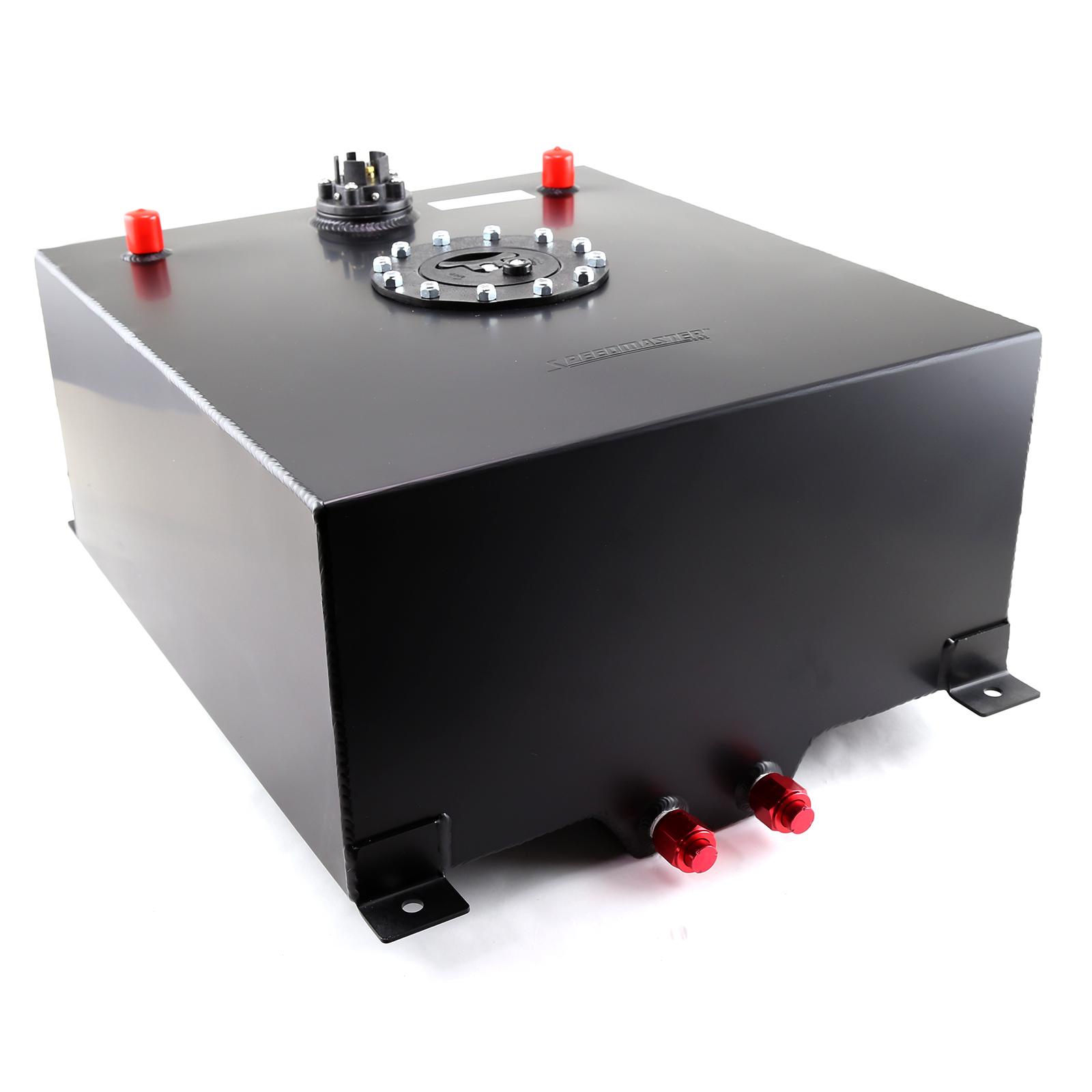 Speedmaster 1-130-012 Speedmaster 15 Gallon / 60 Litre Black Aluminum Fuel Cell w/Sending Unit