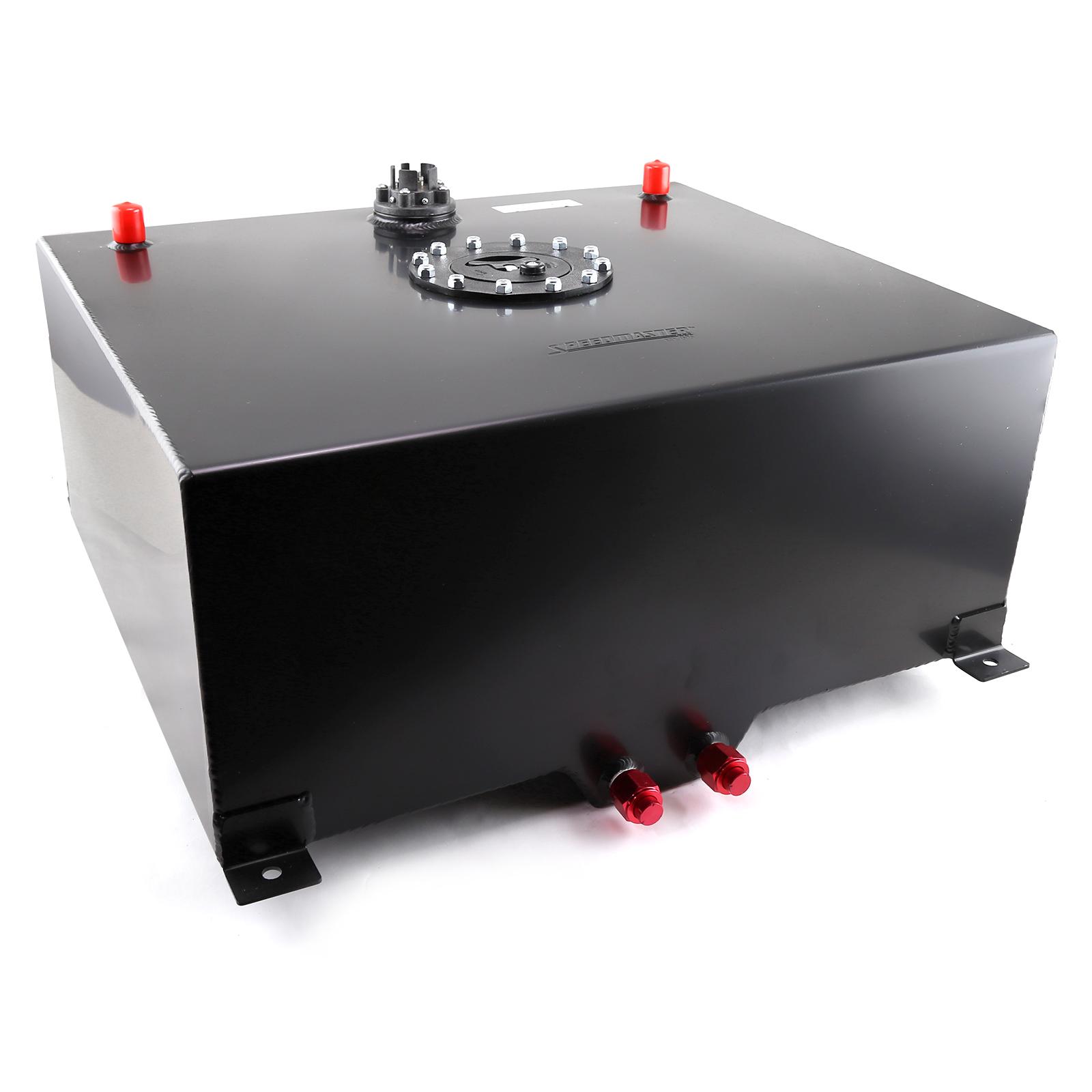 Speedmaster 1-130-014 Speedmaster 20 Gallon / 80 Litre Black Aluminum Fuel Cell w/Sending Unit