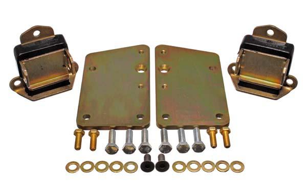 Energy Suspension 3.1148G Conversion Set - Black/Gold Zinc